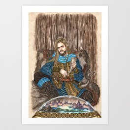 The Guardian of Bifrost Art Print