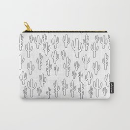 Cactus in White Palette Carry-All Pouch