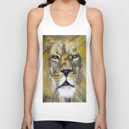 Title: Mesmerizing Lion King Unisex Tank Top