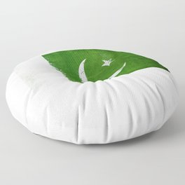 Pakistan Flag design | Pakistani design Floor Pillow