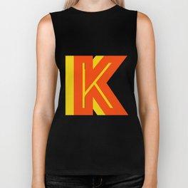Letter K Biker Tank