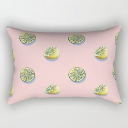 Lemon Pattern Rectangular Pillow