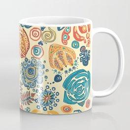 """Pennsylvania """"Dutch"""" Stencil Coffee Mug"""