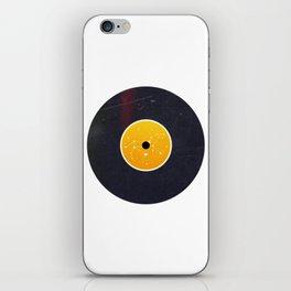 Vinyl Record Star Sign Art | Leo iPhone Skin