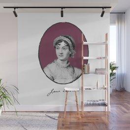 Authors - Jane Austen Wall Mural