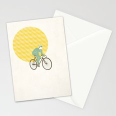 Stache with Sunrise Stationery Cards