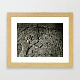 Luxor Framed Art Print