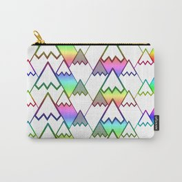 Colorful mountain tops Carry-All Pouch