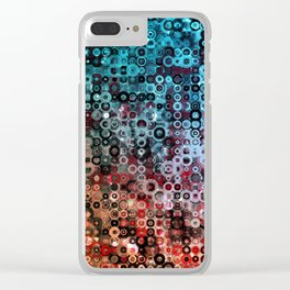 Night into Day Clear iPhone Case