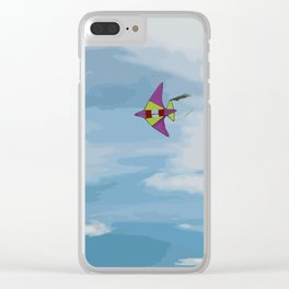 Kite Vector Clear iPhone Case