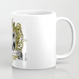 Hufflepuff Color Crest Coffee Mug