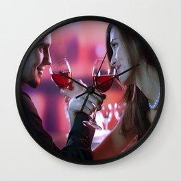 Romance Me My Lover Wall Clock