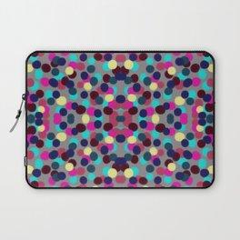 Pink&Blue Confetti Laptop Sleeve