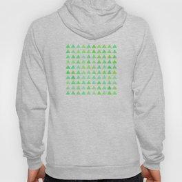 evergreen geometric pattern Hoody