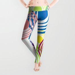 Circles of color Leggings