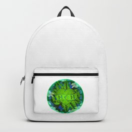 Mom Tattoo Retro Floral Print Backpack