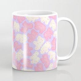 Frosted Animal Cookies on Lilac Coffee Mug