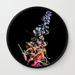 Rainbow Tangle Wall Clock