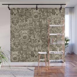 gargoyles vintage Wall Mural