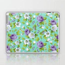 Hopeless Romantic - aqua version Laptop & iPad Skin