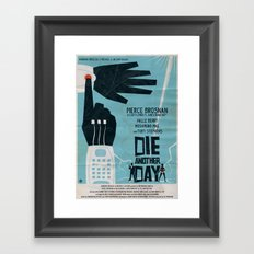 DIE ANOTHER DAY Framed Art Print