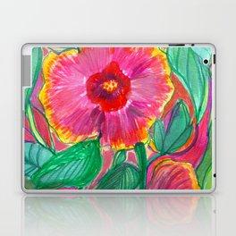 Happiness is Hibiscus Laptop & iPad Skin