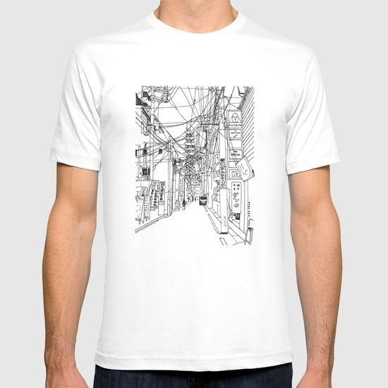 Osaka - downtown street T-shirt