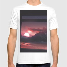 Temples and Sunset T-shirt