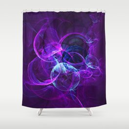 Planetary Gifts From The Universal Light Shower Curtain