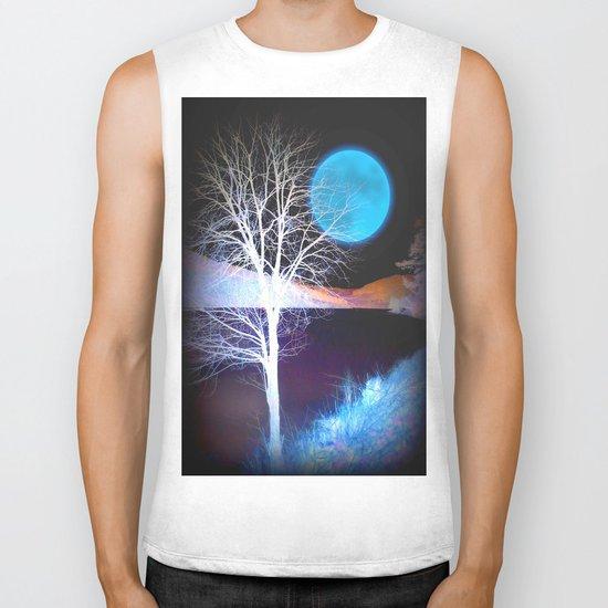 Moon Tree Biker Tank