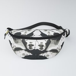 Rorschach-Poem Fanny Pack