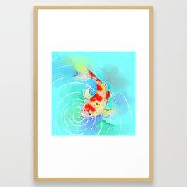 Koi Watercolor 2 Framed Art Print