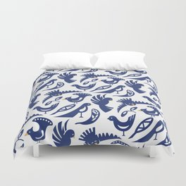 Feather tribe Duvet Cover