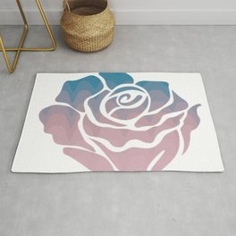 Pink flowers |rose floral |cute flowering Rug