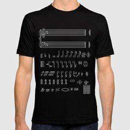 Musical Notation T-shirt