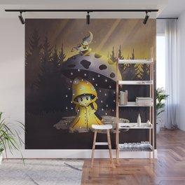 Rain Drops Wall Mural