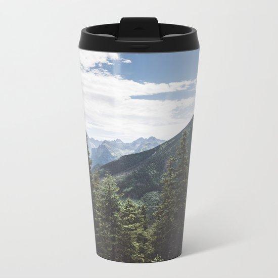 Tatra Mountains Metal Travel Mug