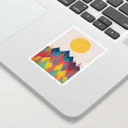 Uphill Battle Sticker