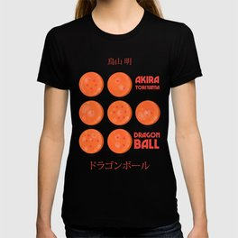 Dragon Ball, A. Toriyama manga, alternative movie poster, cult anime, Japanese wall art. T-shirt