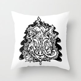This is our Island Throw Pillow