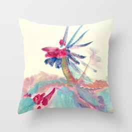 Along the Ridge Throw Pillow