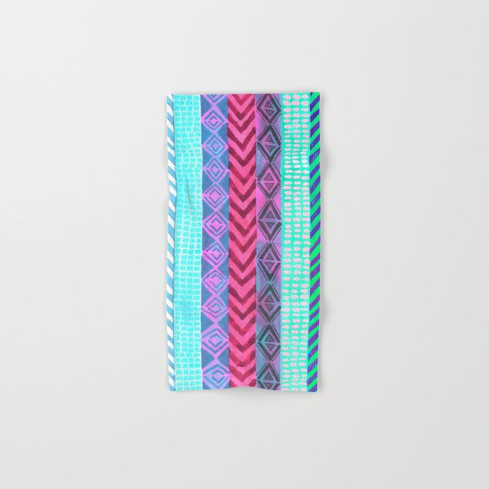 Tribal Pattern 04 Hand & Bath Towel