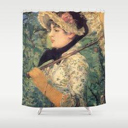 Le Printemps, Edouard Manet Shower Curtain