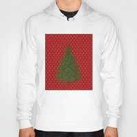 christmas tree Hoodies featuring *(Christmas) Tree* by Mr & Mrs Quirynen