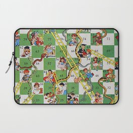Vintage snakes and ladders Laptop Sleeve