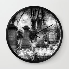 Highgate Cemetery London Wall Clock