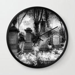 Highgate Cemetery London Wall Clock
