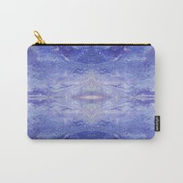 Violet and Blues Floating in an Oblivion of Bubbles by annmariescreations Carry-All Pouch