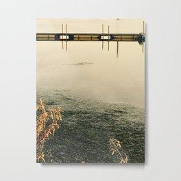 The Danish Bridge Metal Print