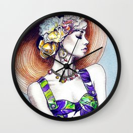 Karlie Kloss in D&G Wall Clock